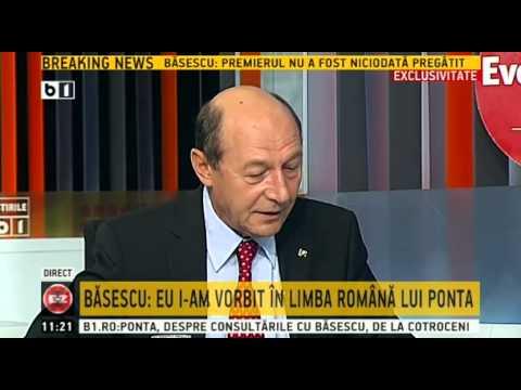 """Emisiunea """"Evenimentul Zilei"""" - invitat special Traian Basescu - 16 iulie 2014"""