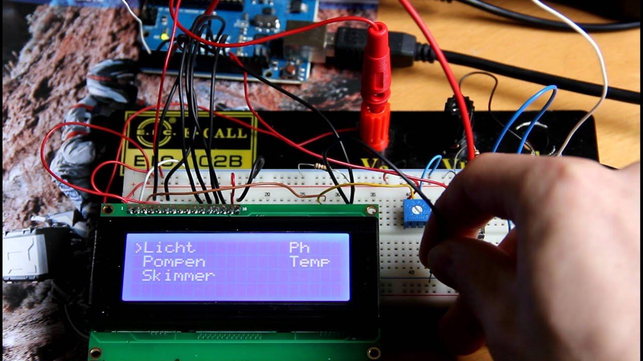 Arduino aquarium controller v youtube