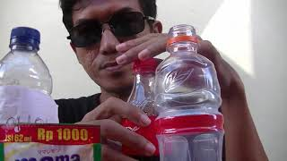 eksperimen coca cola di campur bensin dan ditergen untuk mesin motor