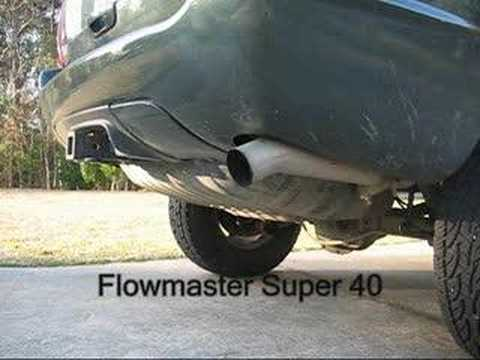2007 Jeep Grand Cherokee >> Kolak Exhaust on a WJ: Flowmaster 70 Series vs Super 40 ...