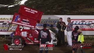 Wilmot Raceway WIMS Mini Sprint Highlights