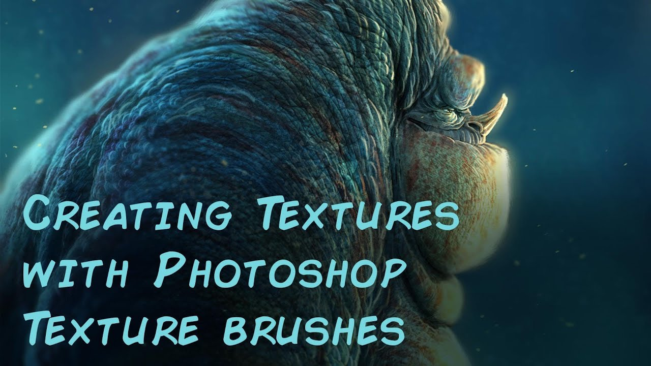 Aaron's Art Tips Season2 E13 - Creating textures with Photoshop Texture  Brushes