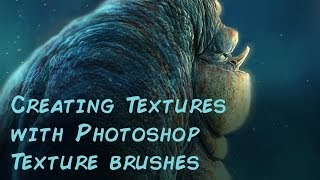 Aaron's Art Tips Season2 E13 - Creating textures with Photoshop Texture Brushes.
