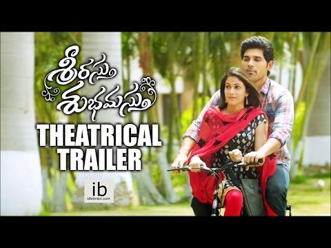 Srirastu Subhamastu theatrical trailer | Allu Sirish | Lavanya Tripathi - idlebrain