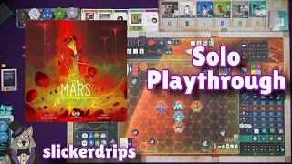On Mars: Alien Invasion - Solo Playthrough