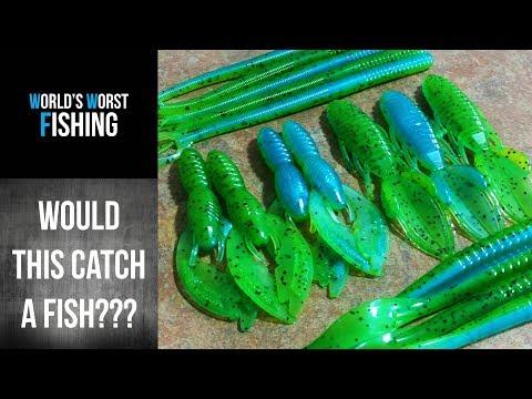 CUSTOM CREATIONS: Green & Blue Pearl Laminates!  Fishing Lure How-To
