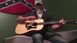 Mr. Confederate Man- Rebel Son(Cover by The Mysterious Cover Cowboy)