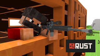If Minecraft would be like Rust ! ( Minecraft Animation )