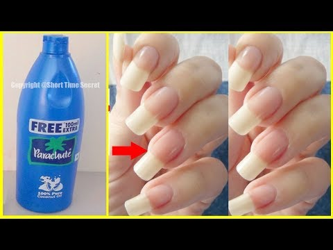 In just 5 Days Grow Long & Strong Nails Fast At Home | Super fast Nails Growth Tips