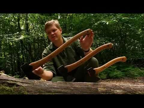 Ray Mears - Choosing and using an axe Bushcraft Survival