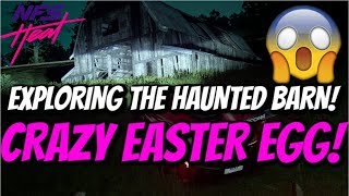 Need For Speed Heat - HAUNTED Barn Easter Egg! (Scary)