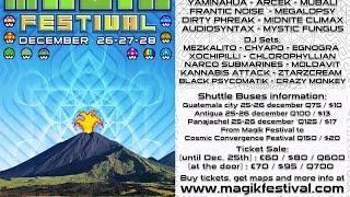 Imix Jaguar - Frantic Noise @ Magik Festival Volcan Pakaya Guatemala