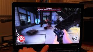 HP ZBook 17 Quadro k3100m Gaming review - Shadow Warrior