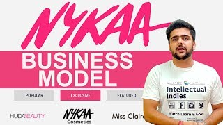 Nykaa Business Model | How Nykaa Earns? | Case Study | Hindi