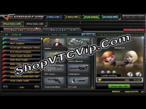 Mua Báu Vật CF Vĩnh Viễn Tại ShopVTCVip.Com