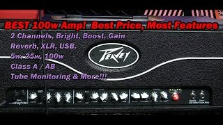 Peavey ValveKing 100w All Tube Head : BEST Price, MOST Features