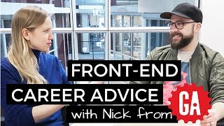 Front End - Where to start? & Career Advice ✨ Interview with Nick from GA part 3 | #FrontendFebruary