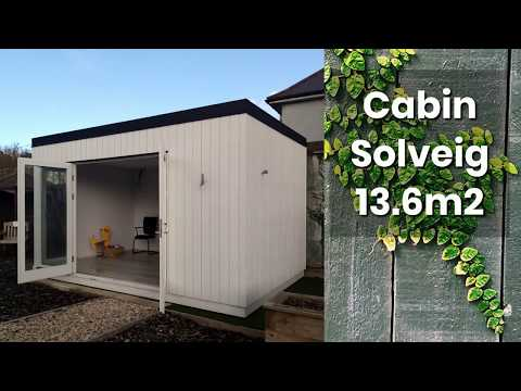 Cabin Solveig 13.6m2 (Flatpack) – Hennessy Outdoors