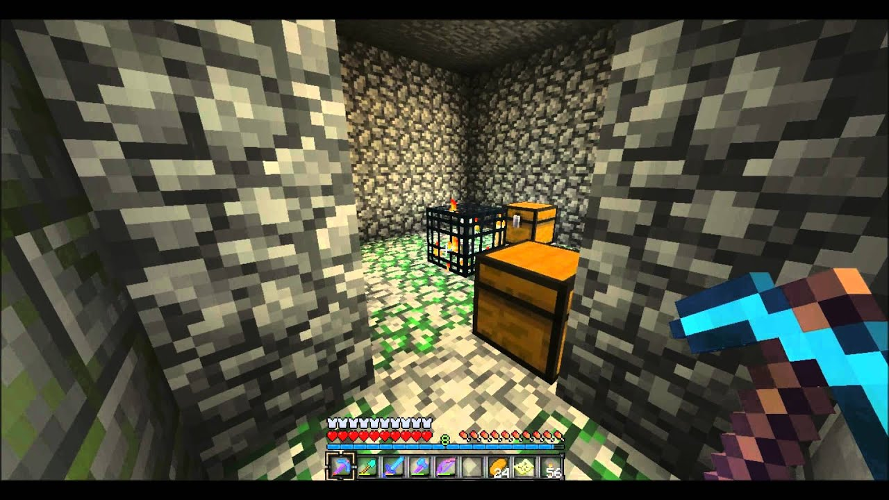 Picking Up A Mob Spawner Using Silk Touch - Does It Work?