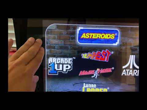 Arcade1Up Asteroids Build and Review from The Orrminators