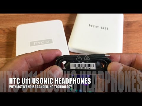 ARE HTC U11 USONIC NOISE CANCELLING HEADPHONES THE BEST EVER? SPOILER  ( THERE AWESOME )