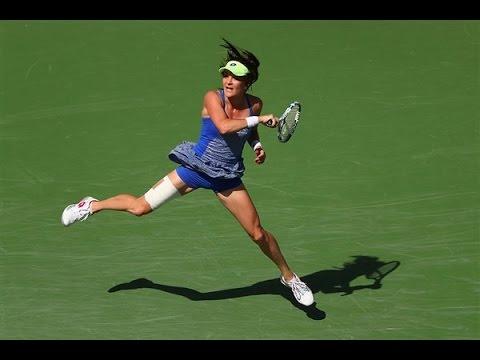 2015 Connecticut Open Quarterfinals   Petra Kvitova vs Agnieszka Radwanska   WTA Highlights from YouTube · Duration:  3 minutes 59 seconds