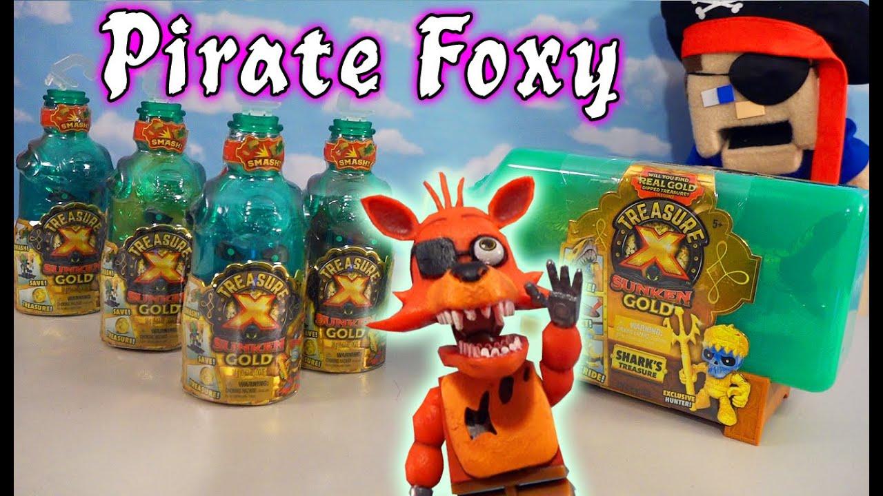 FNAF Treasure X - Pirate FOXY's Search For Sunken Gold Treasure
