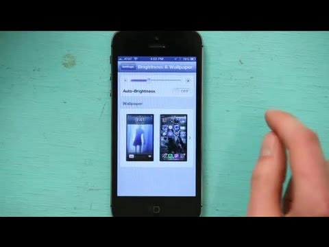 how to make a video your lock screen on iphone