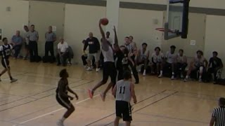 Top Plays from CCCAA Juco Showcase Men's Basketball 9/25/16