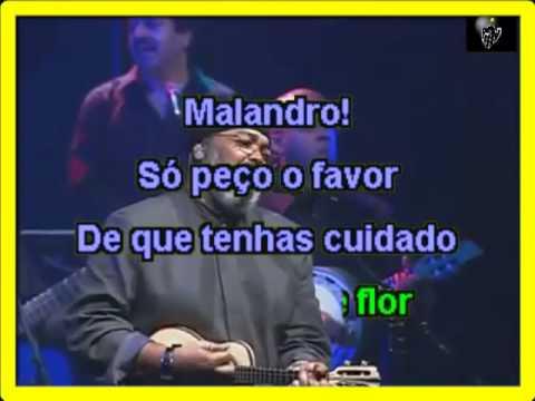 VIDEO KARAOKE JORGE ARAGÃO MALANDRO