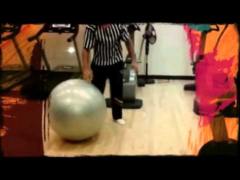 fitness training in an ascott gym by coach milan  (Created