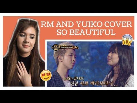 NAMJOON AND YUIKO UMBRELLA COVER REACTION (Duet Song Festival) // ItsGeorginaOkay