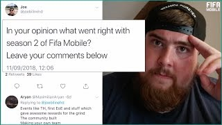 What YOU said was GOOD about FIFA MOBILE Season 2