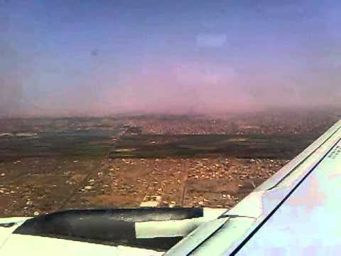 airbus a320 the greatest engine sound ever...takeoff khartoum intl.