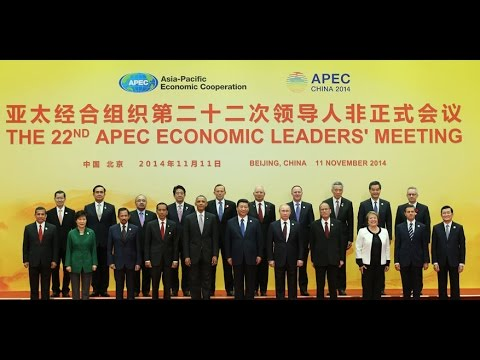 "APEC leaders pose for ""Family Photo"""