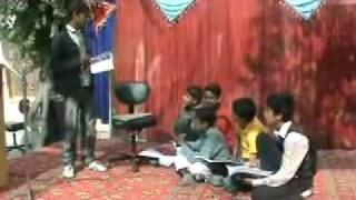 Funny Tablo By Arslan Amanat and Friends At Hazara Public School & College Changa Manga