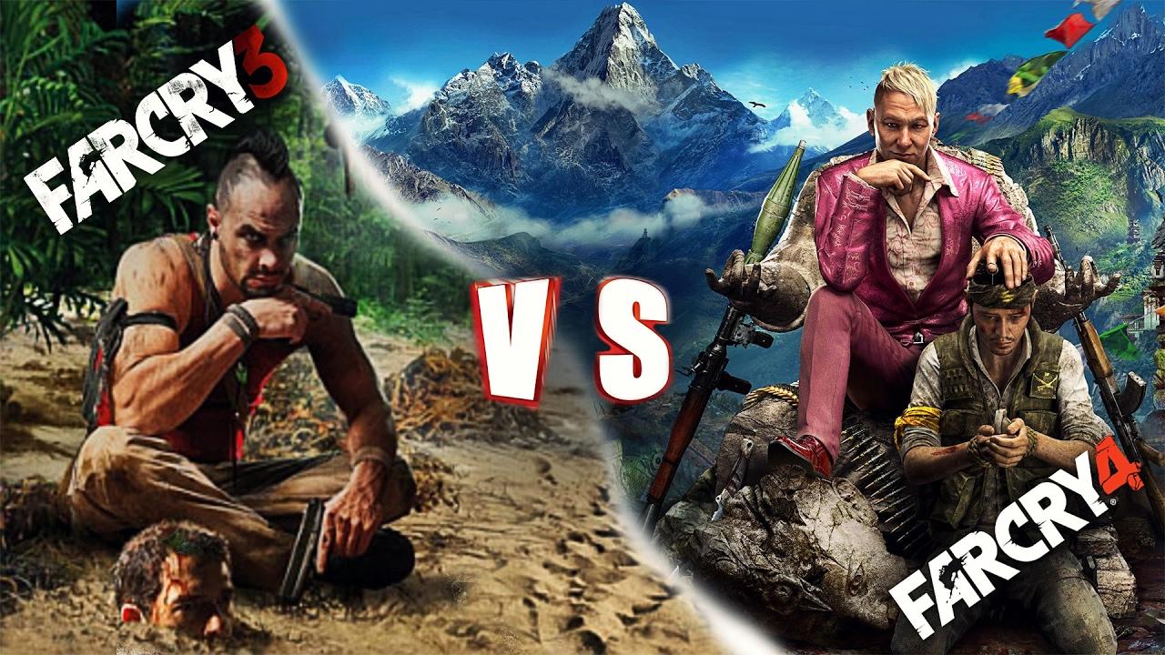 Ini dia Perbedaan Graphic game Far Cry 3 dan Far Cry 4 full review ...