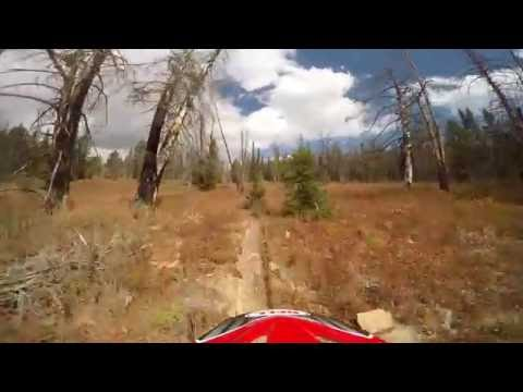 Horsetail loop - Gros Ventre - Wyoming Trail ride