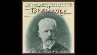 Theme Andante Con Moto (Tema con Variazioni) - Moscow Conservatory Trio - Great Piano Trios