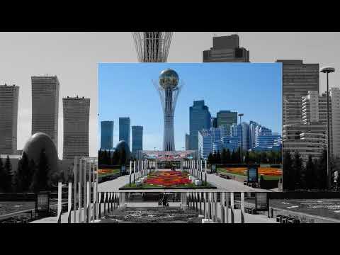 """KAZAKHSTAN - ASTANA """"1"""" : de la Tour Bayterek au Palais Présidentiel  Ak Orda"""