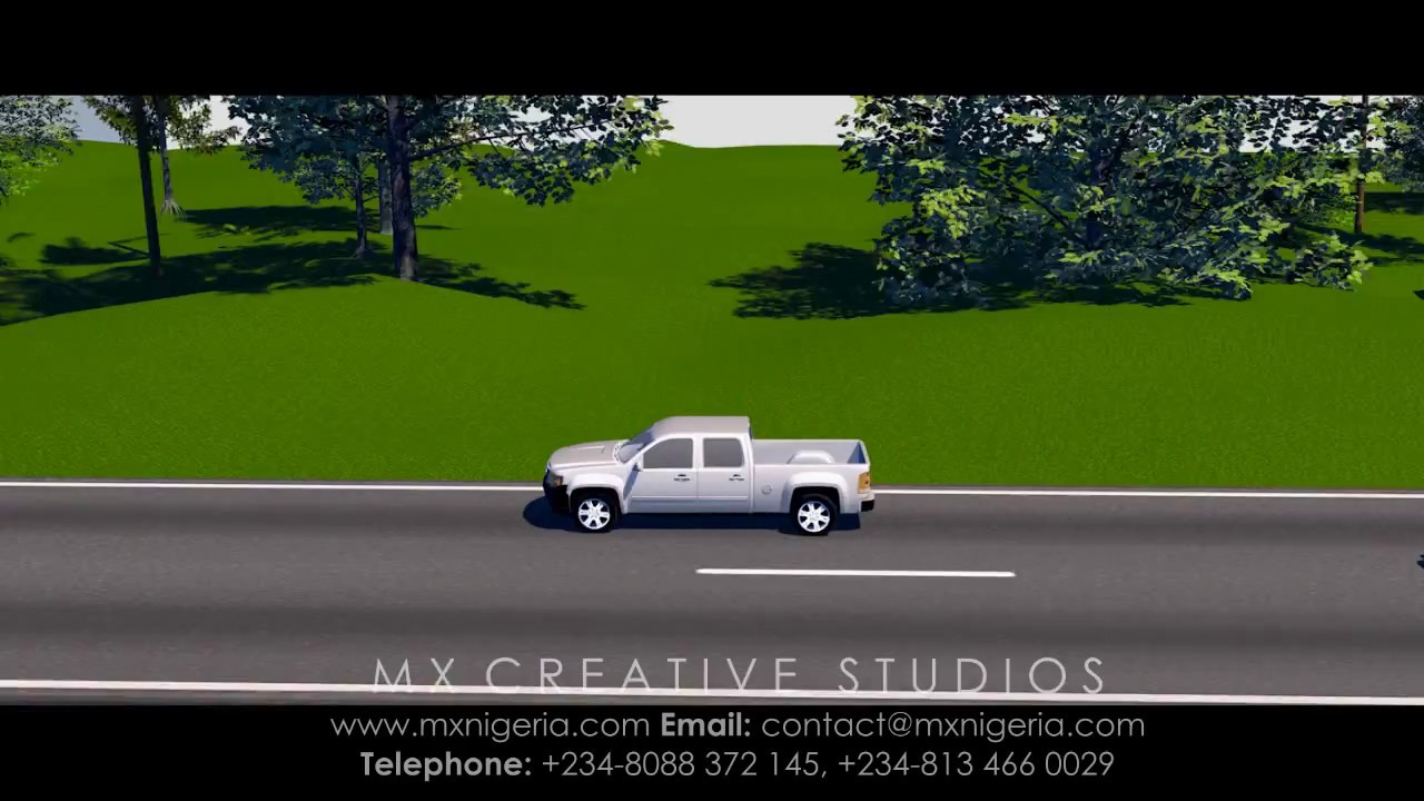 Nigeria Road Accident Simulation on 3D - YouTube