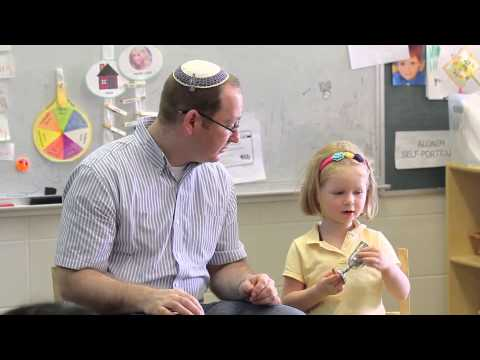 Shabbat with Family at Ginsburg Solomon Schechter Early Childhood Center