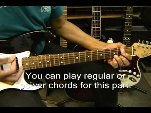 Fine Young Cannibals SHE DRIVES ME CRAZY Electric Guitar Lesson ...