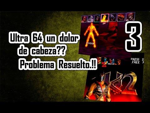 Maximus Arcade - Ultra 64 un dolor de cabeza.??  Problema Resuelto.!!