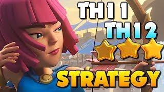 EXCITING ATTACKS that won 3 STARS in Clash of Clans!! TH11 & TH12 Attack Strategy in CoC!