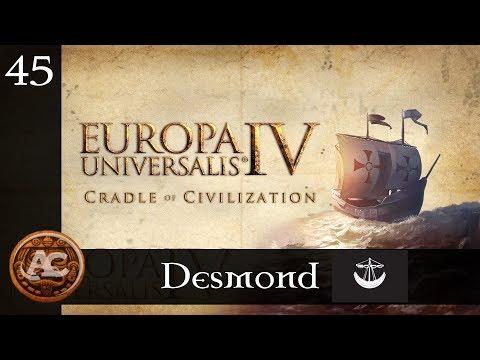 Desmond #45    EU4 Cradle of Civilization Gameplay ITA