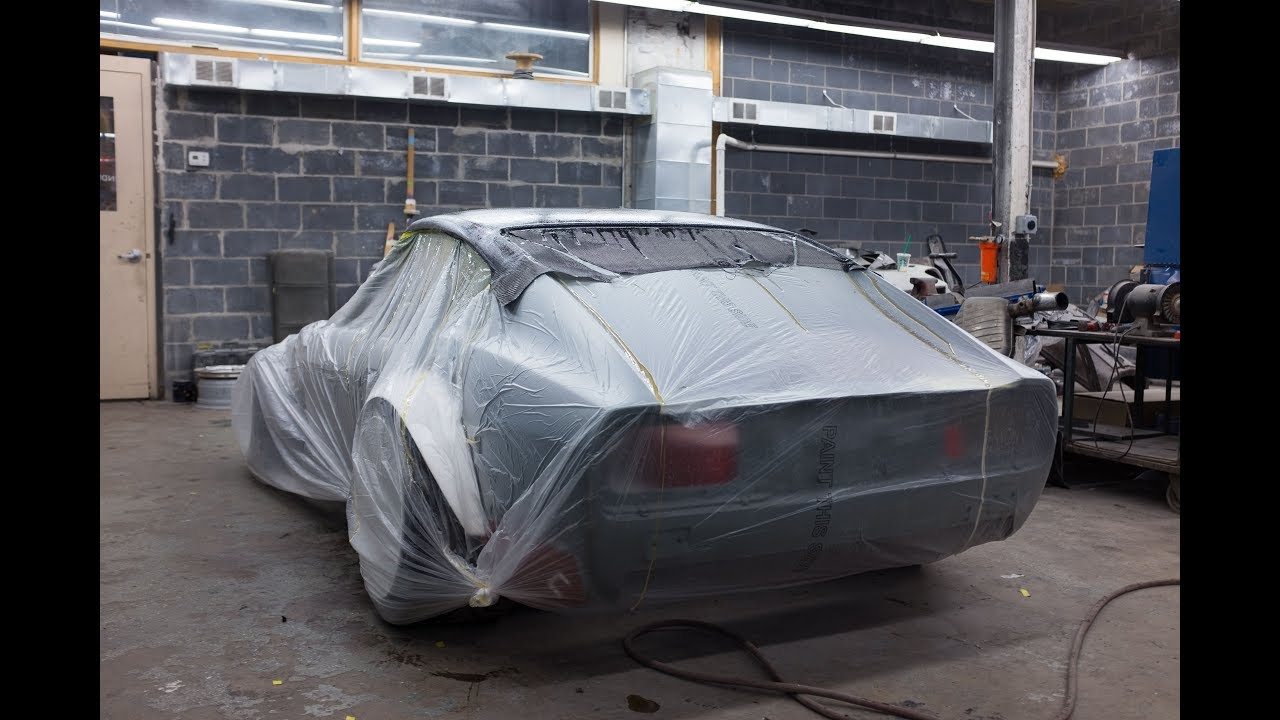 Carbon Fiber Roof Skin Diy On The 240z Datsun Ep 3 Youtube