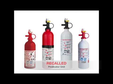 Kidde Fire Extinguisher Recall 2017 Guide for US and Canada Mp3