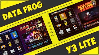 Data Frog Y3 Lite   КАК НАСТРОИТЬ ВИД МЕНЮ ПОД СЕБЯ 🎮