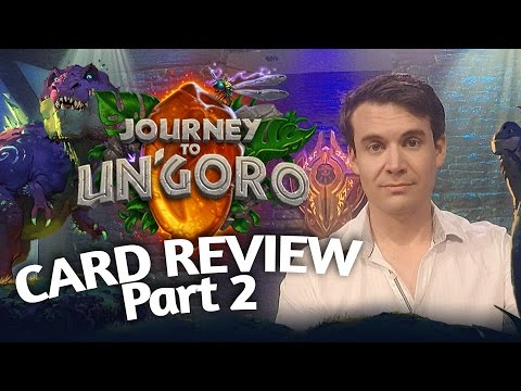 (Hearthstone) Journey To Un'Goro: Card Review Part 2